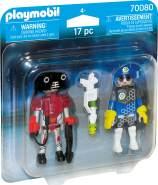 Playmobil Space 70080 'DuoPack Spacepolizist und Ganove', 17 Teile, ab 4 Jahren