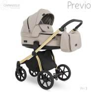 Camarelo 'Previo' Kombikinderwagen 4plusin1 beige