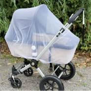 Alvi - Mückennetz für Kinderwagen Super weiß