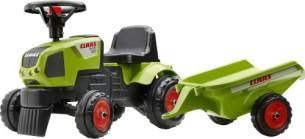 Claas Traktorrutscher mit Anhänger