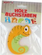 Besttoy Holzbuchstabe 'C' orange