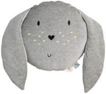 Wigiwama Spielkissen Hase Samt, grau