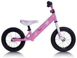 Rebel Kidz - Laufrad - Air 12,5 Schmetterling - pink