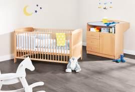 Pinolino 'Björn' 2-tlg. Babyzimmer-Set beige