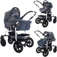 Bebebi Sidney - 3 in 1 Kombi Kinderwagen Great Ocean Road Roues moussant