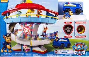 Spin Master Paw Patrol 'Lookout Hauptquartier' Spielset mit Chase Spielfigur, ab 3 Jahren