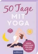 ars Edition 50 Tage mit Yoga. Ideenkärtchen für den Alltag