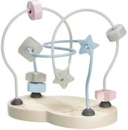 Selecta 64019 Sternchenschleife, Bellybutton, Motorikspielzeug aus Holz, 18 cm, bunt