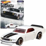 Cars Mattel GBW75 - '69 Ford Mustand Boss 302 - Fast & Furious 1/4 Mile Muscle | Hot Wheels Premium Auto Set