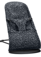 BabyBjörn Babywippe Bliss Mesh Anthrazit Leopard
