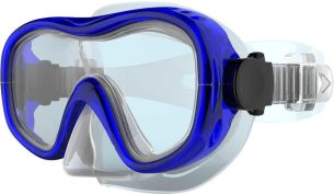 TECNOPRO Kinder M5 Tauchmaske, Brilliant Blue, S