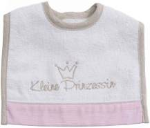 Be Be´s Collection Mini-Klett Lätzchen Kleine Prinzessin