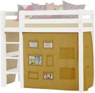 Hoppekids CREATOR Vorhang für mittelhohe Betten (Liegefläche 70x160 cm) in AUTUMN YELLOW