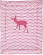 Taftan 'Reh' Krabbeldecke rosa, 100x80 cm