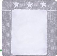 LULANDO 'White Dots/Grey Stars' Wickelauflage 75 x 80 cm grau/weiß