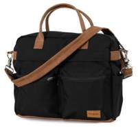 Emmaljunga Wickeltasche Travel Outdoor Black Kollektion 2021