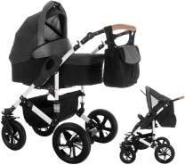Bebebi myVARIO | 2 in 1 Kombi Kinderwagen | Luftreifen | Farbe: myStar