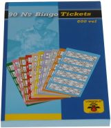 Weiblespiele 360201 - Bingo-Tickets 1-90
