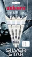 Unicorn Darts Silver Star Gary Anderson 80% Tungsten Steeltip 21g