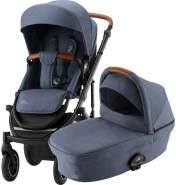 Britax Römer Smile III Kinderwagen mit Smile III Kinderwagenaufsatz Indigo Blue