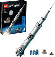 LEGO Ideas 92176 'NASA Apollo Saturn V', 1969 Teile, ab 14 Jahren, meterhohes, eindrucksvolles Modell