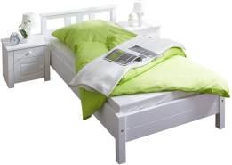 Ticaa 'Merci' Einzelbett 90x200 weiß