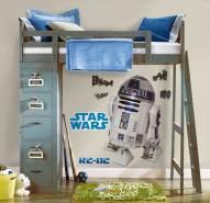 RoomMates - Star Wars R2D2 - Wandtattoo Wandsticker Wandaufkleber Wandbilder