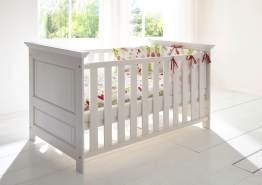 'Odetta' Kinderbett aus Kiefer 140x70 cm, weiß