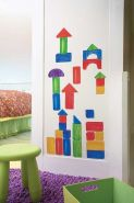 Wallies WallPlay Wooden Blocks
