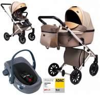 Anex 'e/type' Kombikinderwagen 4plusin1 2020 in Truffle mit Swandoo Babyschale