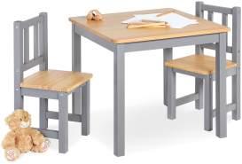 Pinolino 'Fenna' Kindersitzgruppe 3-tlg. grau