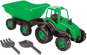 Kindertraktor mit Anhänger 71 cm