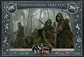 CoolMiniOrNot CMNSIF107 A Song of Ice and Fire Miniaturspiel: Stark Crannogman Trackers Expansion, Mehrfarbig