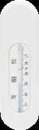bebe-jou - Badethermometer Weiß
