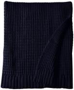 Lulando Bambusdecke navy blue 80x100 cm