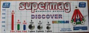 Supermag Magnet-Spiel DISCOVER 22