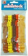 Ministeck 31664 - Farbstreifen-Set, 9 Farbstreifen (31607 - 31612)