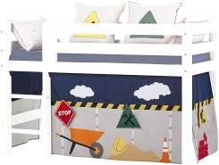 Hoppekids 'Construction' Vorhang für Spielbett oder Etagenbett 70x160 cm