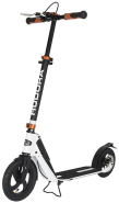Hudora - Big Wheel Scooter Air 230 Dual Brake - Roller Luftreifen, Scooter Handbremse, 14035