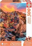 Carletto 9217980 - Educa, Manarola, Italien, Senior, XXL-Puzzle, 300 Teile