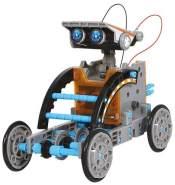 Happy People Discovery MINDBLOWN Solarroboter-Bausatz mit Solarzellen-Technologie Modellbau