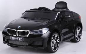 Kinder Elektro Auto Kinderauto BMW 6er GT FB USB Elektro Kinderfahrzeug Schwarz