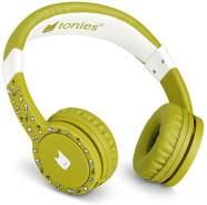 Tonies 'Tonie-Lauscher' Grün, Kinder-Kopfhörer passend zur Toniebox, Lautstärke reguliert, abnehmbares Kabel, größenverstellbar, bewegliche Ohrmuscheln