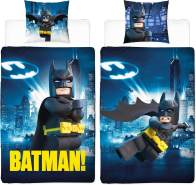 Bettwäsche Lego Batman Gotham Linon / Renforce