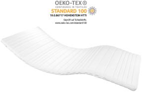 AM Qualitätsmatratzen Basic Topper 160x210 cm - Weiche & anpassungsfähige Matratzenauflage - Auch für Boxspringbetten geeignet - Made in Germany
