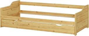 Erst-Holz Kiefer Bettgestell 90x200, natur