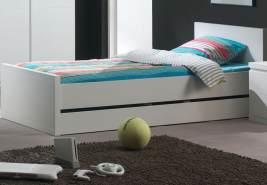Vipack 'Lara' Einzelbett Bett weiß 90x200