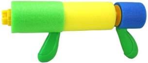 Toyrific Wasserpistole Wasserkanone 31cm Grün