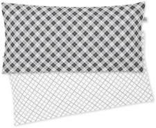 Irisette Mako-Satin Kissenbezug 1 teilig Kissenhüle 40 x 80 cm Kopfkissenbezug Bea-Ki 8254-12 grafit
