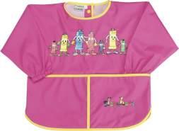 Kinder Malschürze mit Ärmeln pink (Gröe: 92 ca. 1-2 Jahre)